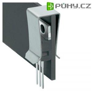 Svorka tranzistory Fischer Elektronik THFA 4, poniklovaná, TO 220