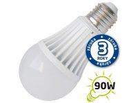 Žárovka LED A60 E27 15W bílá teplá (Al)
