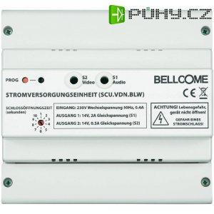 Síťový zdroj pro zvonky na DIN lištu Bellcome, 40778, 14 V/DC 2 A + 0,5 A, bílá