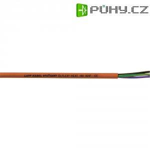 Silikonový kabel LappKabel Ölflex® HEAT 180 SIHF 2x0,75 (0046001), červenohnědá, 1 m