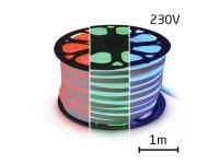 LED neon flexi hadice 230V 60LED/m 14,4W/m RGB (1m)