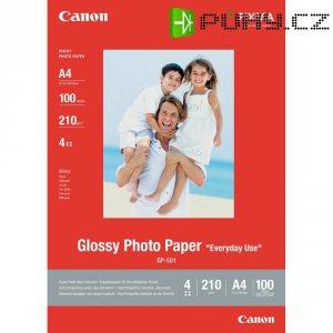 Fotopapír Canon Glossy GP-501, 0775B001, A4, 100 listů