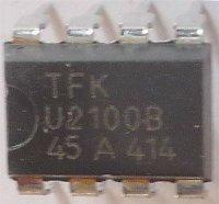 U2100B - časovač 18sec-23min, DIL8