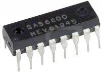 SAS6600 - obvod pro předvolbu do přijímačů AM/FM, DIL16