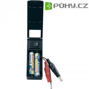 Box pro nízkonapěťové adaptéry, vhodné pro 2 AAA baterie