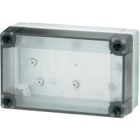 Polykarbonátové pouzdro MNX Fibox, (d x š x v) 180 x 180 x 75 mm, šedá (MNX PCM 175/75 T)