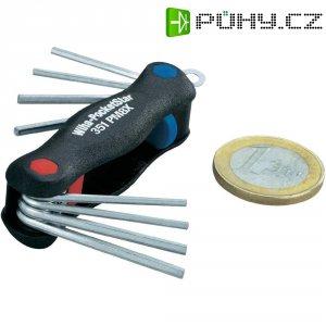 Kapesní sada imbusových klíčů Wiha PocketStar 27936, 0,7 - 2 mm, 8dílná