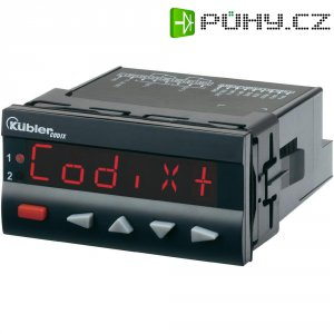 Čítač s předvolbou Kübler Codix 560 AC, RS485, 90-260 V/AC