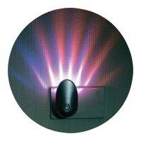 Noční světlo do zásuvky RGB LED s nástěnným osvětlením