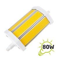 Žárovka LED R7s/230V 8W 118mm COB bílá přírodní