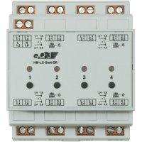 Bezdrátový spínač na DIN lištu HomeMatic, 91836, 4kanálový, 3680 W