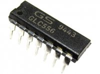 NE556CN 2x časovač CMOS DIL14 /TS556,CM556/