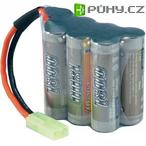 Akupack NiMH (modelářství) Conrad energy, 8.4 V, 1800 mAh, zástrčka mini Tamiya