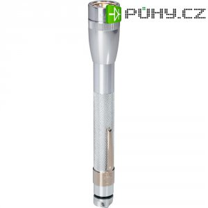 Kapesní svítilna Mag-Lite Mini 2 AAA, M3A106, 3 V, kryptonová, stříbrná