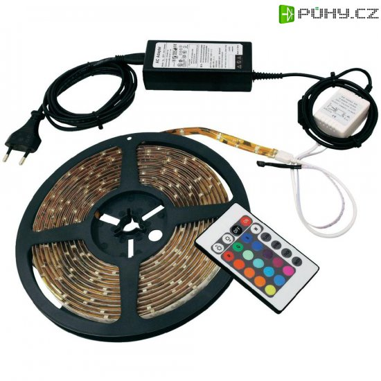 RGB LED pásek SMD5050 Eurolite, 50532000, 1,5 m - Kliknutím na obrázek zavřete