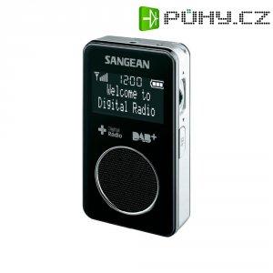 Kapesní DAB+ rádio Sangean DPR-34+, FM, černá