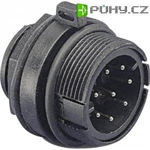 Vestavný konektor s přírubou ESKA Bulgin PX0805, 0,2 - 0,5 mm², IP68
