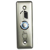 SESAME SB4R, odchodové tlačítko, kontakty NO/NC/COM, LED podsvícení
