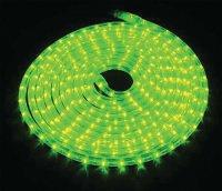 Světelná hadice LED 9m, 216 LED, zelená