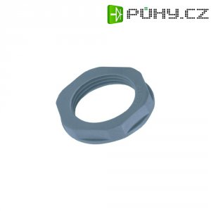 Pojistná matice LappKabel GMP-GL PG16 53019040, -20 až +100 °C, polyamid, stříbrnošedá (RAL 7001)