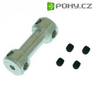 Hliníková nastavovací spojka GAUI, 2 mm (204661)