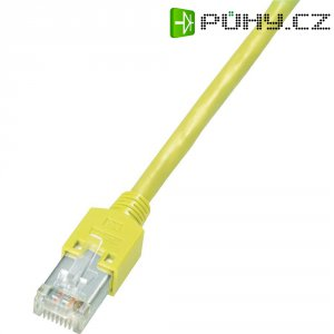 Patch kabel Dätwyler CAT 5e S/ UTP, 1 m, žlutá