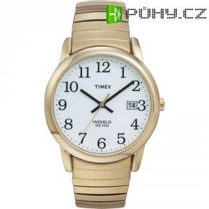 Ručičkové náramkové hodinky Timex Easy Reader, T2H301, pásek z nerezové oceli, zlatá