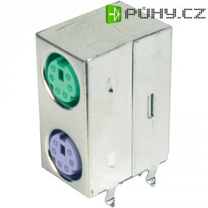 2portový Mini DIN konektor, st