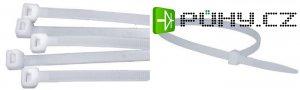 Stahovací páska 4,8x280mm bílá