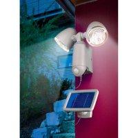Solární LED svítidlo s PIR čidlem Esotec, 2 reflektory