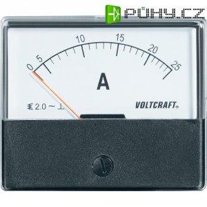 Analogové panelové měřidlo VOLTCRAFT AM-70X60/25 A 25 A