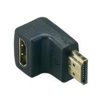 HDMI adaptér Belkin F3Y015cpGLD F3Y015cpGLD, [1x HDMI zástrčka - 1x HDMI zásuvka], černá