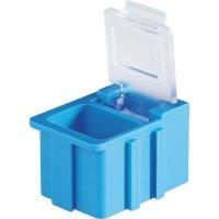 Box pro SMD součástky Licefa, N12341, 16 x 12 x 15 mm, žlutá