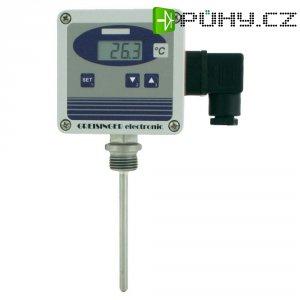 Volně nastavitelný převodník teploty se senzorem Pt1000, Greisinger GTMU - MP/1,