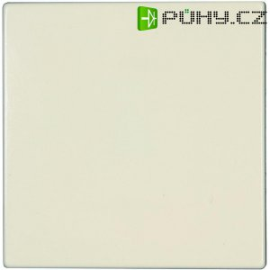 Krytka vypínače Jung, LS 990, plast, krémově bílá