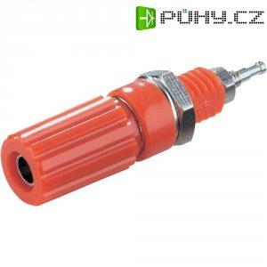 Pólová svorka SCI, (Ø x d) 6,5 x 11,5 mm, červená