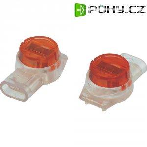 Svorka, SJT3, 0,13 - 0,65 mm², 3pólová, červená, 50 kusů