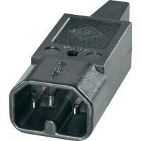Síťová IEC zástrčka C16 K+B, 250 V, 10 A, 42R042311