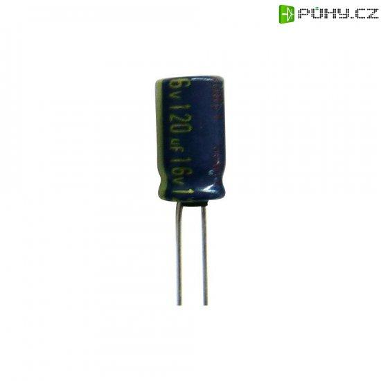 Elektrolytický kondenzátor Panasonic EEUFC1V471B, radiální, 470 µF, 35 V, 20 %, 1 ks - Kliknutím na obrázek zavřete