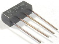 RB-154 diodový můstek 400V=/1,5A drát