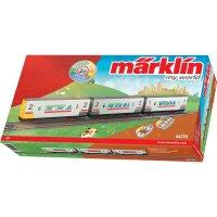 Osobní vagóny H0 Märklin World 44270, sada 3 ks, magnetické spřáhlo