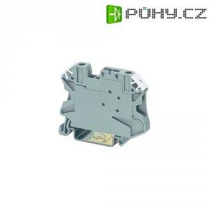 Oddělovací svorka Phoenix Contact UT 4-TG (3046142), šroubovací, 6,2 mm, šedá