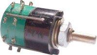 Přepínač otočný WK53300, 2-8poloh, 1paketa, hřídel 3x12mm