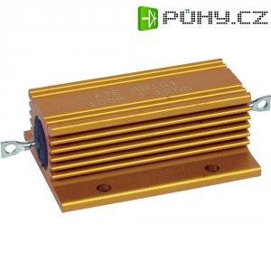 Rezistor ATE Electronics, 4,7 Ω, 5 %, axiální vývody, 100 W, 5 %