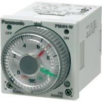 Multifunkční časové relé dvojité Panasonic PM4HWH24SWJ, 5 A 250 V/AC , 10 VA