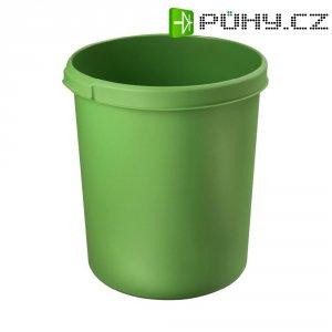 Koš na papír, zelený, 30 litrů