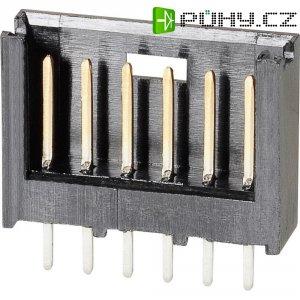 Kolíková lišta MOD II TE Connectivity 280373-2, přímá, 2,54 mm, černá
