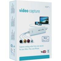 USB převodník videa z analogového do digitálního záznamu, Elgato VIDEO CAPTURE F/ PC AND MAC 1VC108601001