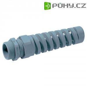 Kabelová průchodka se spirálovou ochranou LappKabel BS (53111800), M12, světle šedá