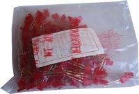 LED 2,5x5mm červená difuzní HFR244, balení 200ks